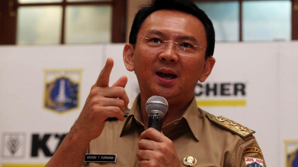 Keluarkan Instruksi Gubernur, Ahok Minta Jajarannya Sigap Cegah Banjir