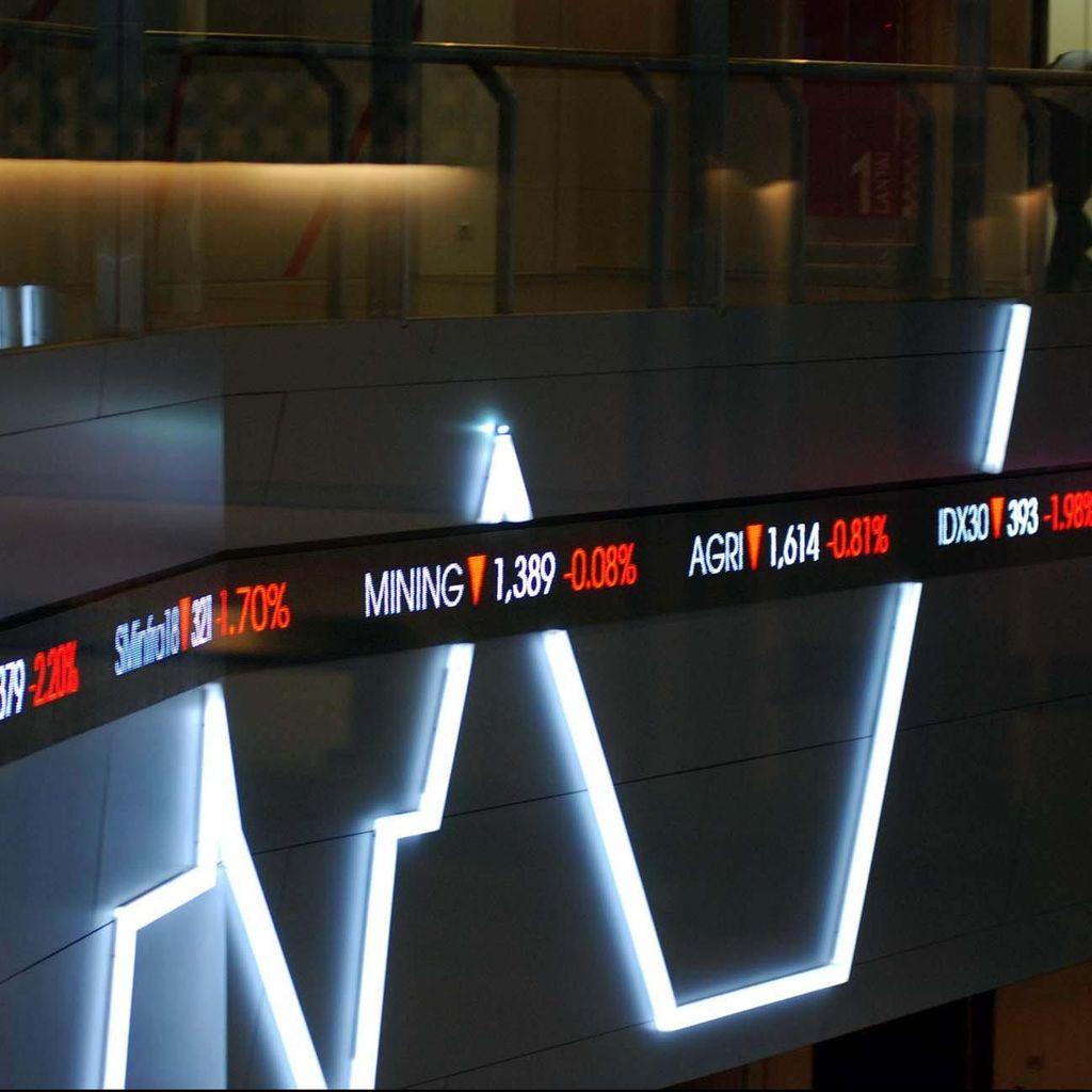 IHSG Melemah di Tengah Penguatan Bursa Asia