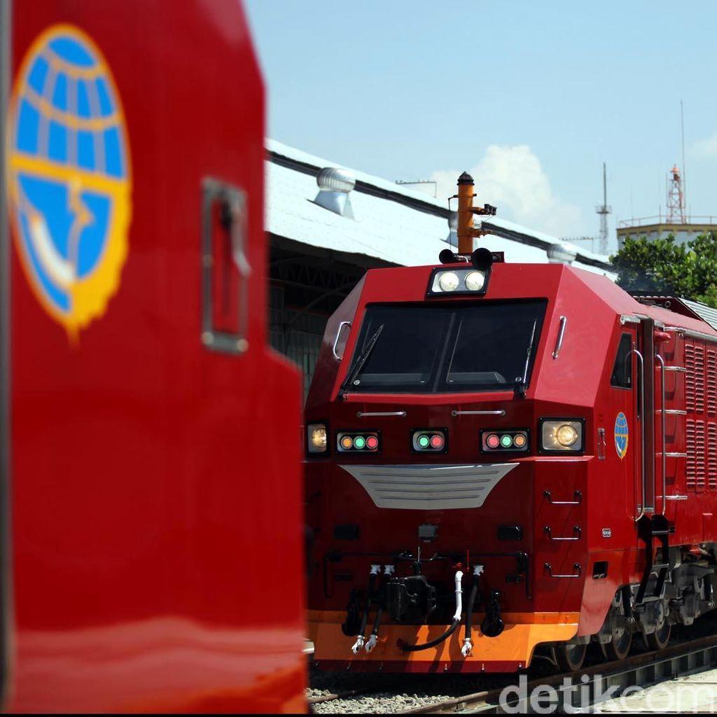 JK: Proyek Kereta Kencang Jakarta-Surabaya Bisa Dimulai 2017