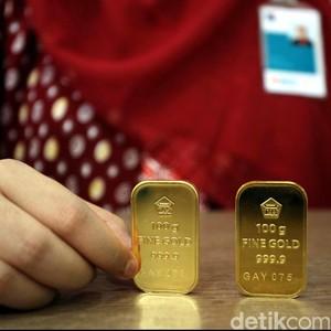 Harga Emas Antam Stagnan di Rp 601.000/Gram