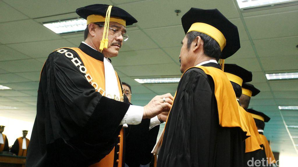 Ketua MA: Keponakan Saya Banyak Nggak Lulus Jadi Hakim!