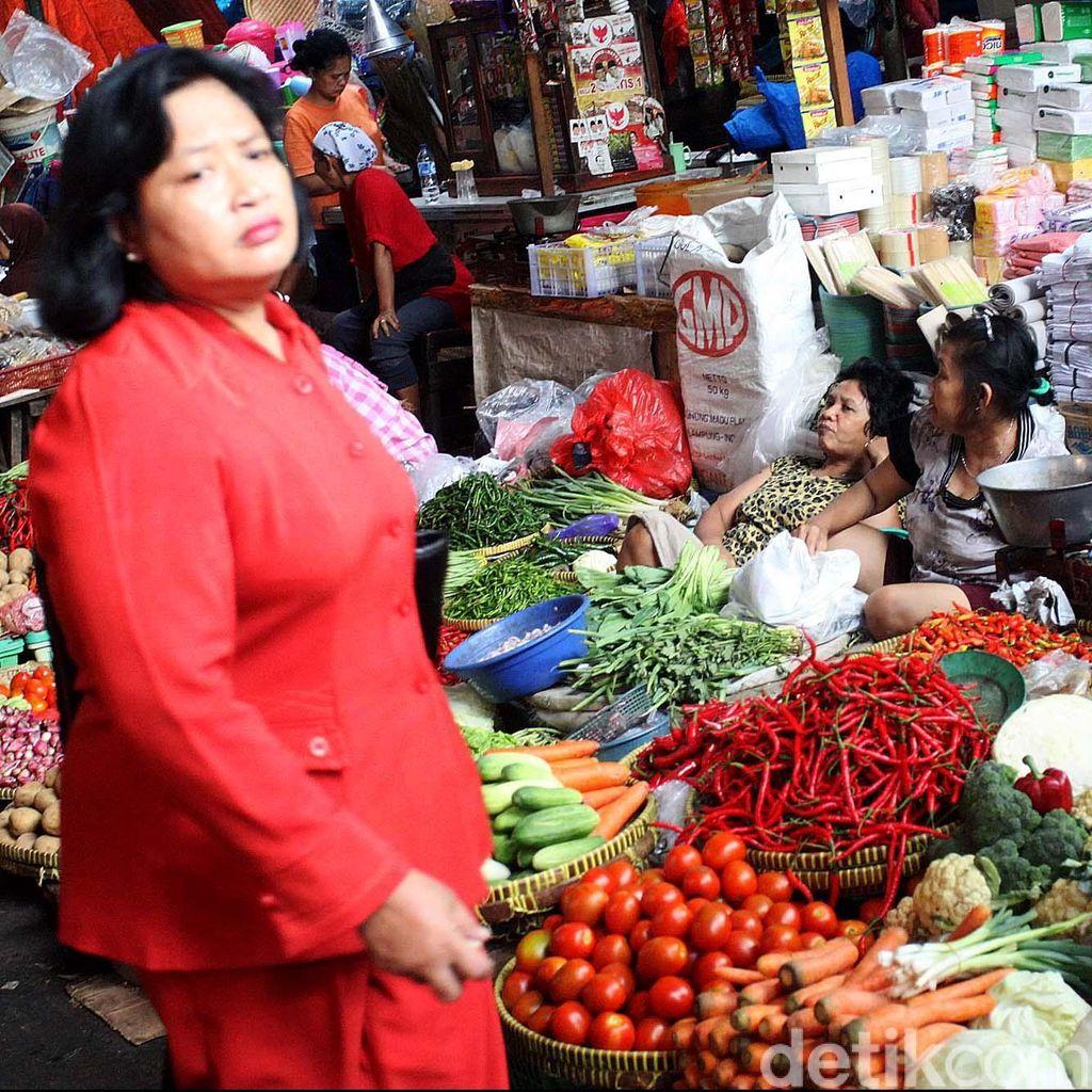 Pedagang Pasar Minta Kementan dan Kemendag Sinergi Jaga Harga Pangan