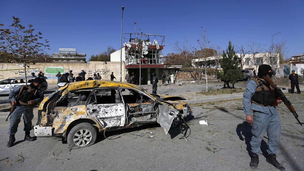 Ledakan Bom Mobil Dekat Bandara Internasional Kabul, 4 Orang Tewas