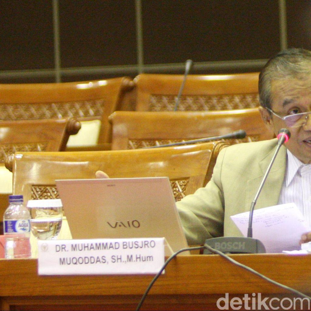 Uji Capim KPK 16 Desember, Komisi III Akan Panggil Busyro dan Robby Dahulu