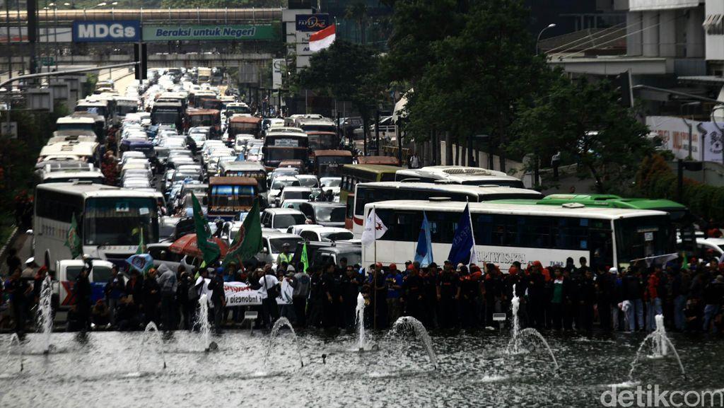 Ada Demo Buruh, Jalur 3 In 1 Ditiadakan Hari Ini