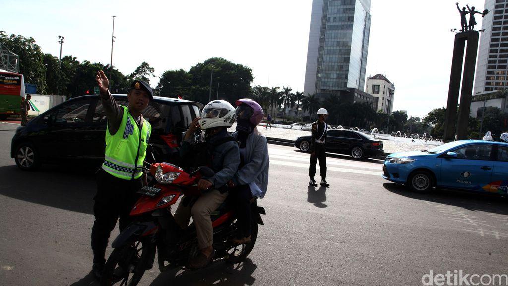 Sidang Praperadilan, Pemotor Anggap Tilang di MH Thamrin Tidak Sah