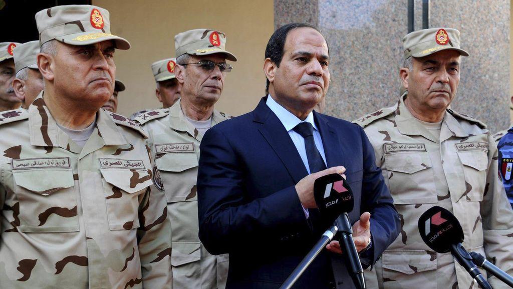 Presiden Mesir Sore ini Tiba di Indonesia, Langsung Bertemu Jokowi