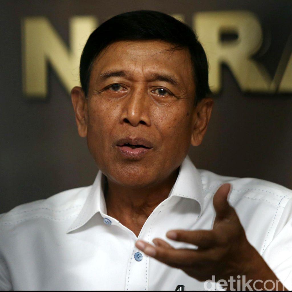 Terima Wejangan dari Luhut, Wiranto: Banyak yang Harus Dilanjutkan