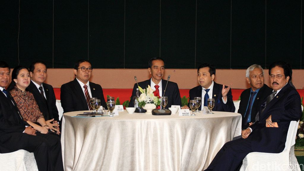 Besok, Pimpinan DPR Temui Jokowi Bahas Calon Tunggal di Pilkada