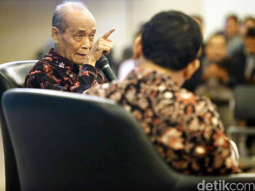Syafii Maarif Sarankan Komjen Anang Teliti Kembali Kasus BW Cs