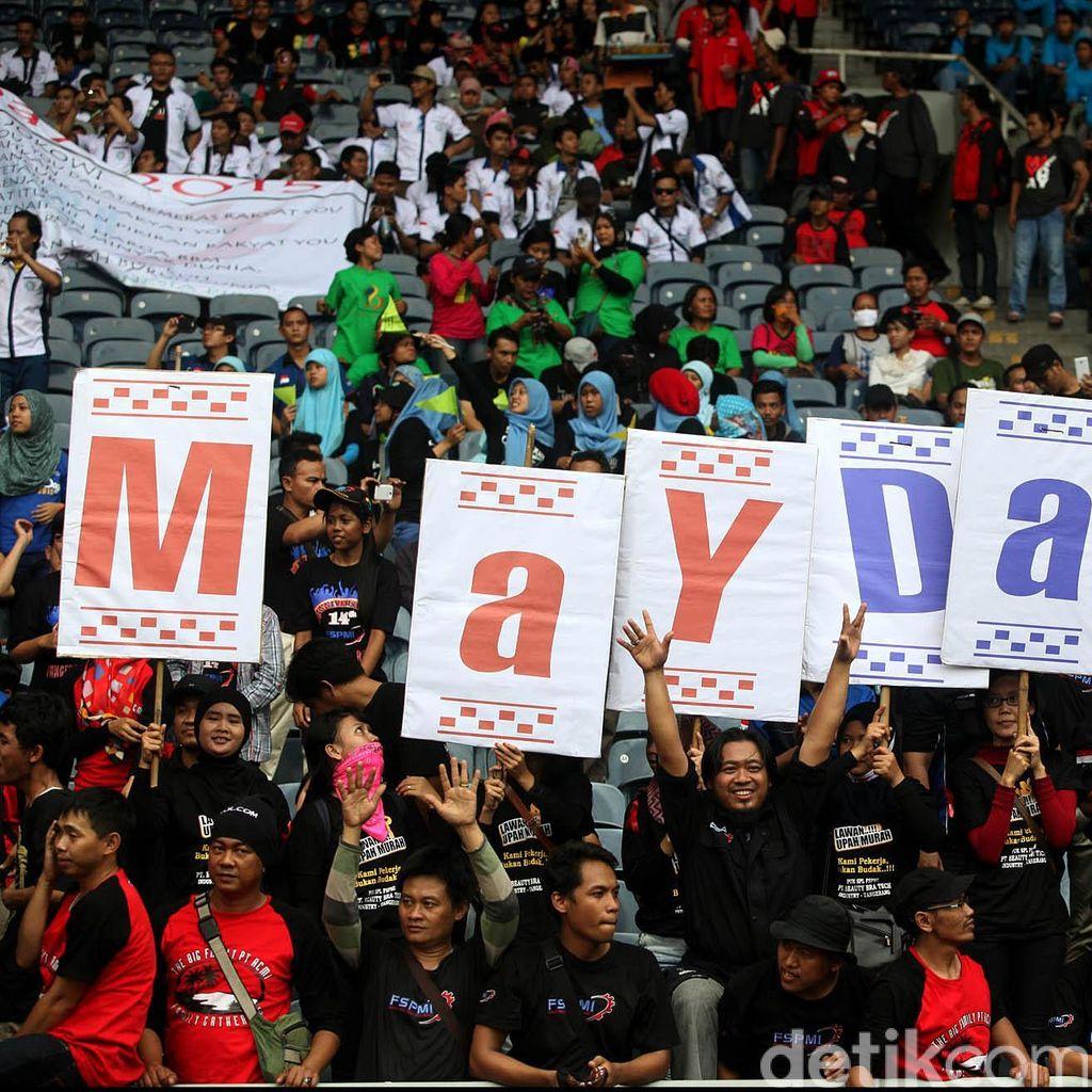 Amankan May Day, Polisi Sudah Bersiaga di Sejumlah Pintu Tol