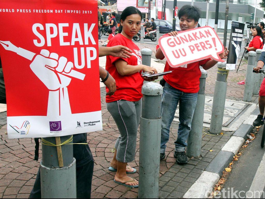 Demokrasi Suatu Bangsa Dilihat dari Kebebasan Pers