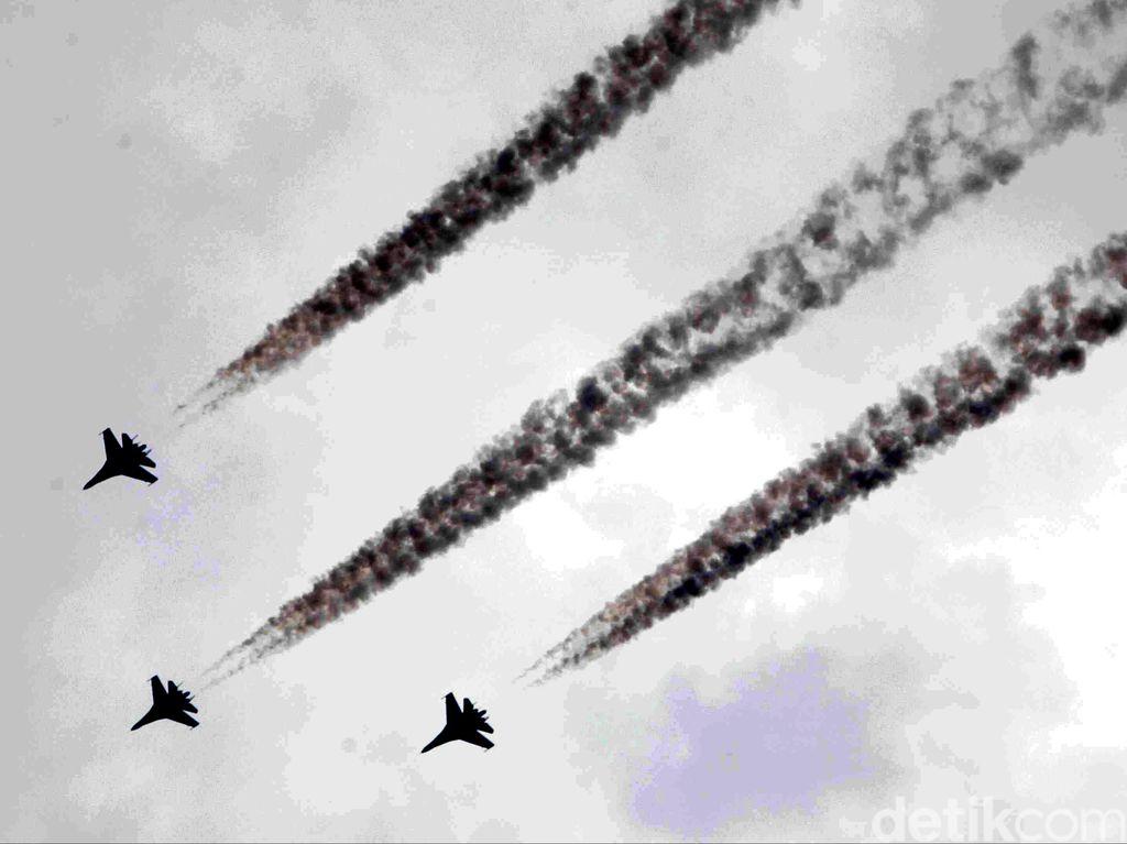 Menhan Pilih Sukhoi-35 Untuk Gantikan F-5 Tiger yang Masuki Masa Pensiun