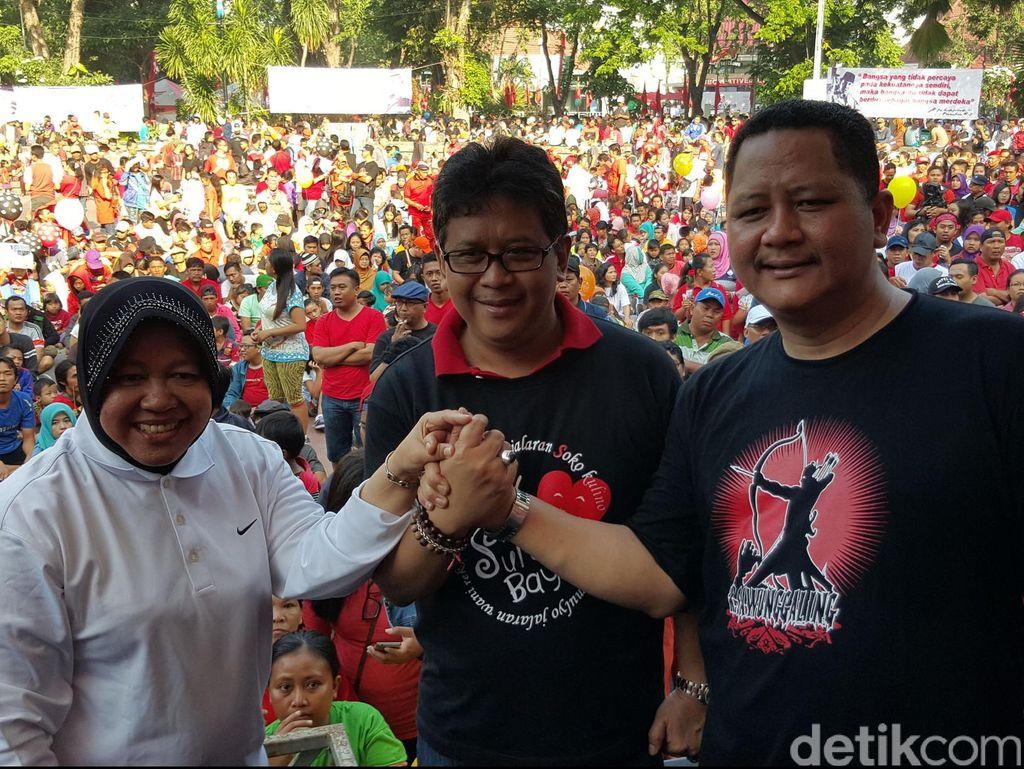 Pilkada Surabaya Ditunda, Risma Angkat Bicara