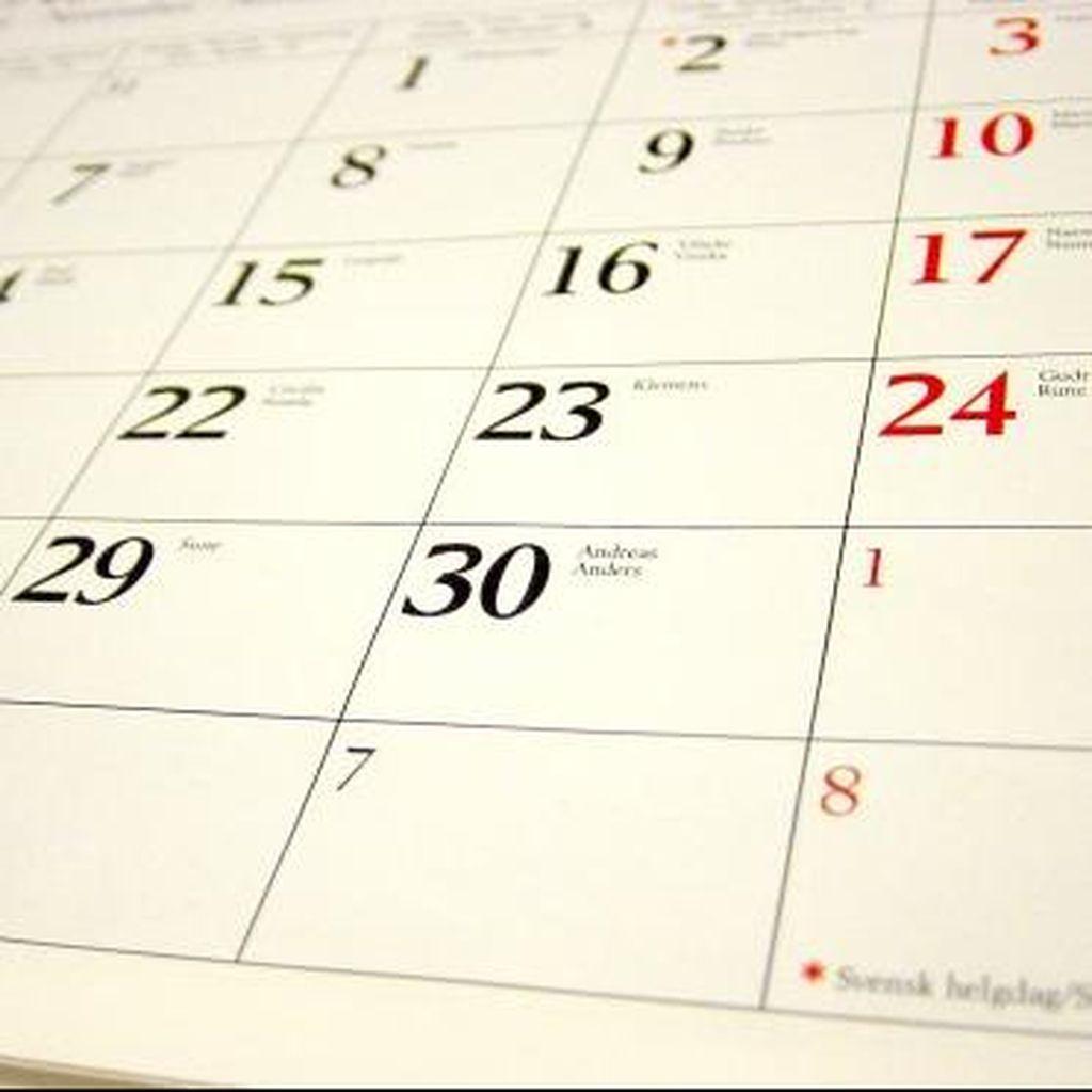 Plus Libur 1 Juni, di 2017 Ada 20 Hari Libur dan Cuti Bersama: Ini Daftarnya