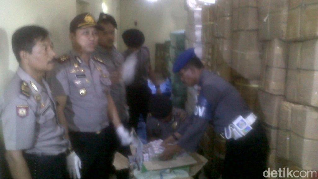 Polisi Sita Jutaan Petasan dari Rumah Kosong di Sleman