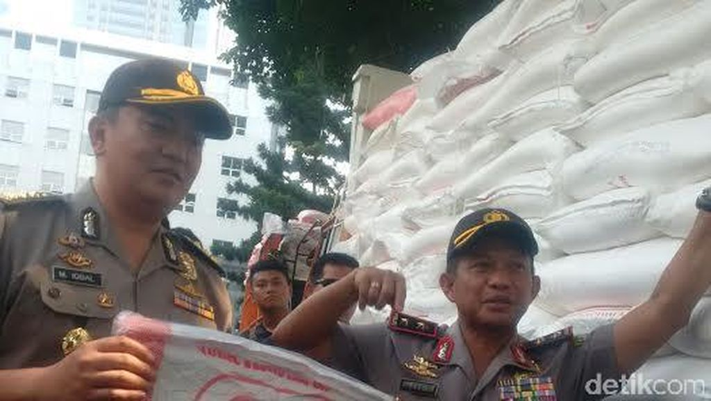 60 Ton Gula Rafinasi yang Digelapkan Sopir Dikembalikan ke Perusahaan