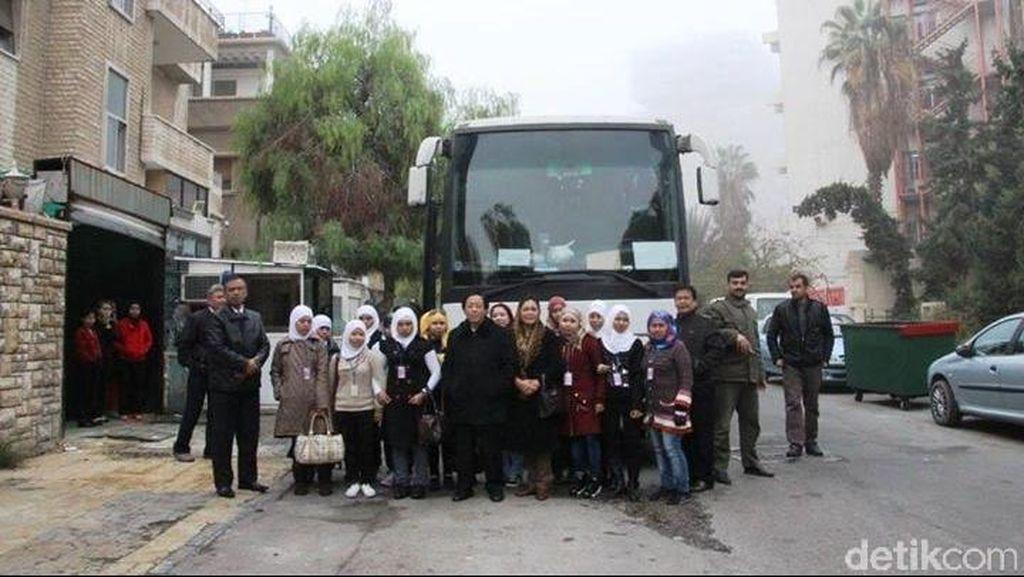44 WNI dari Suriah Dipulangkan ke Tanah Air