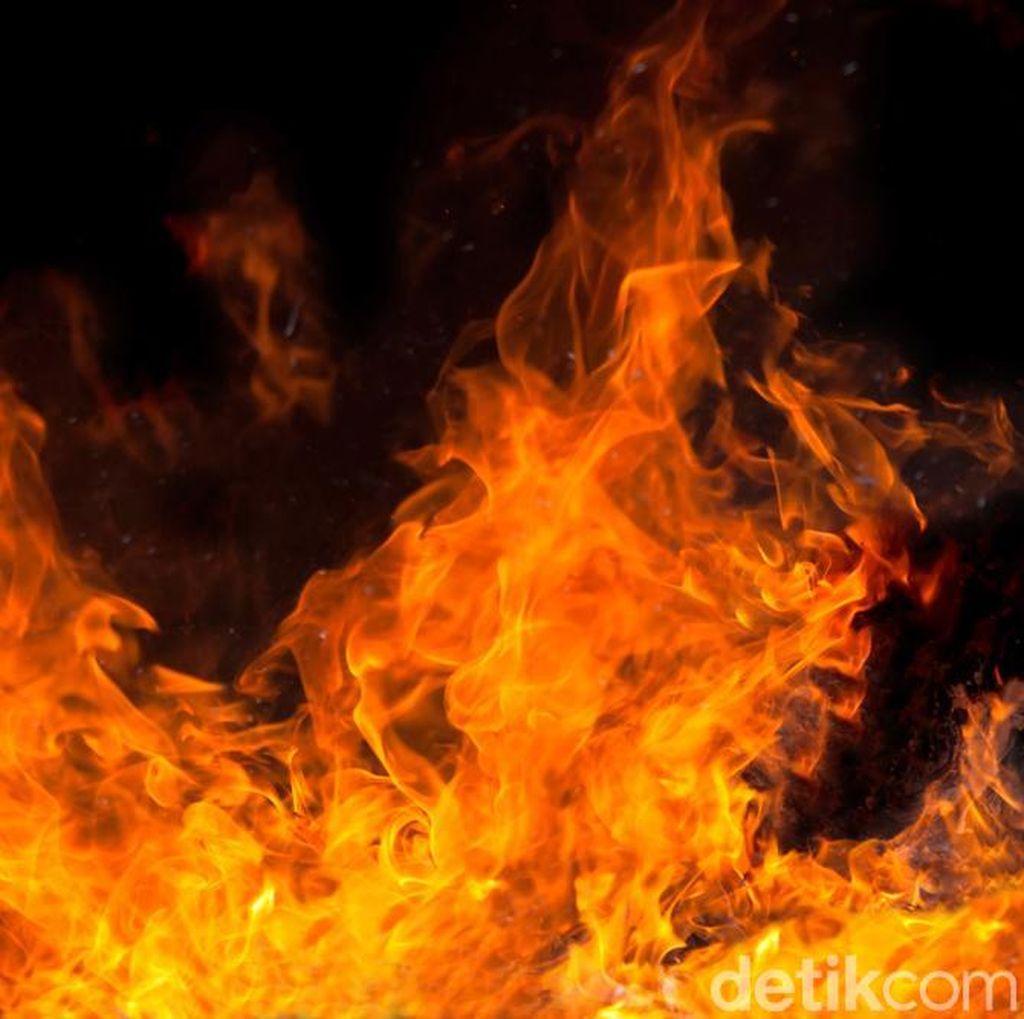 Kebakaran Terjadi di Pasar Kacangan Boyolali