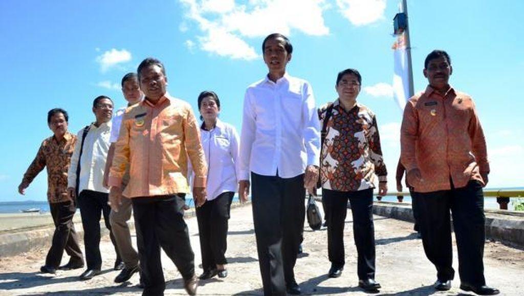 Keluarkan Perppu Pilkada Calon Tunggal? Jokowi: Tunggu Rapat Nanti Sore