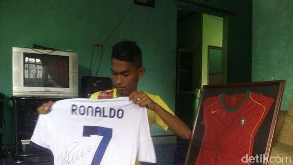Martunis Anak Angkat Ronaldo asal Aceh Kembali Diundang ke Portugal
