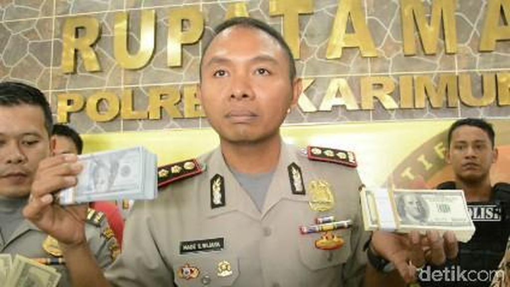Polisi Tangkap PNS Pengedar Dolar Palsu di Kepri