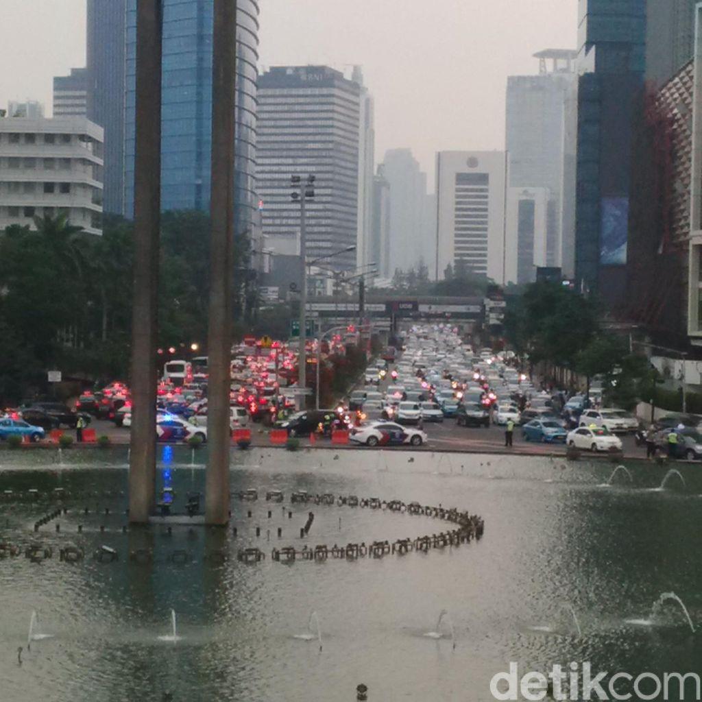 5 Kantong Parkir Disiapkan Tampung Kendaraan Massa Buruh 1 September