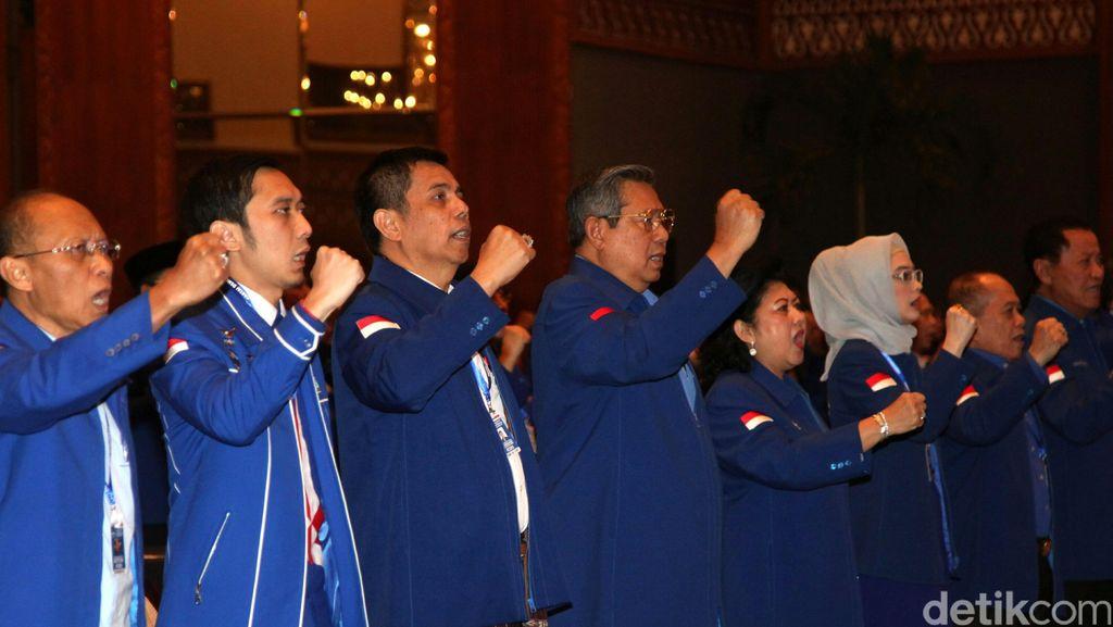 Ini 14 Nama Kader Baru Partai Demokrat yang Dilantik di Cipanas