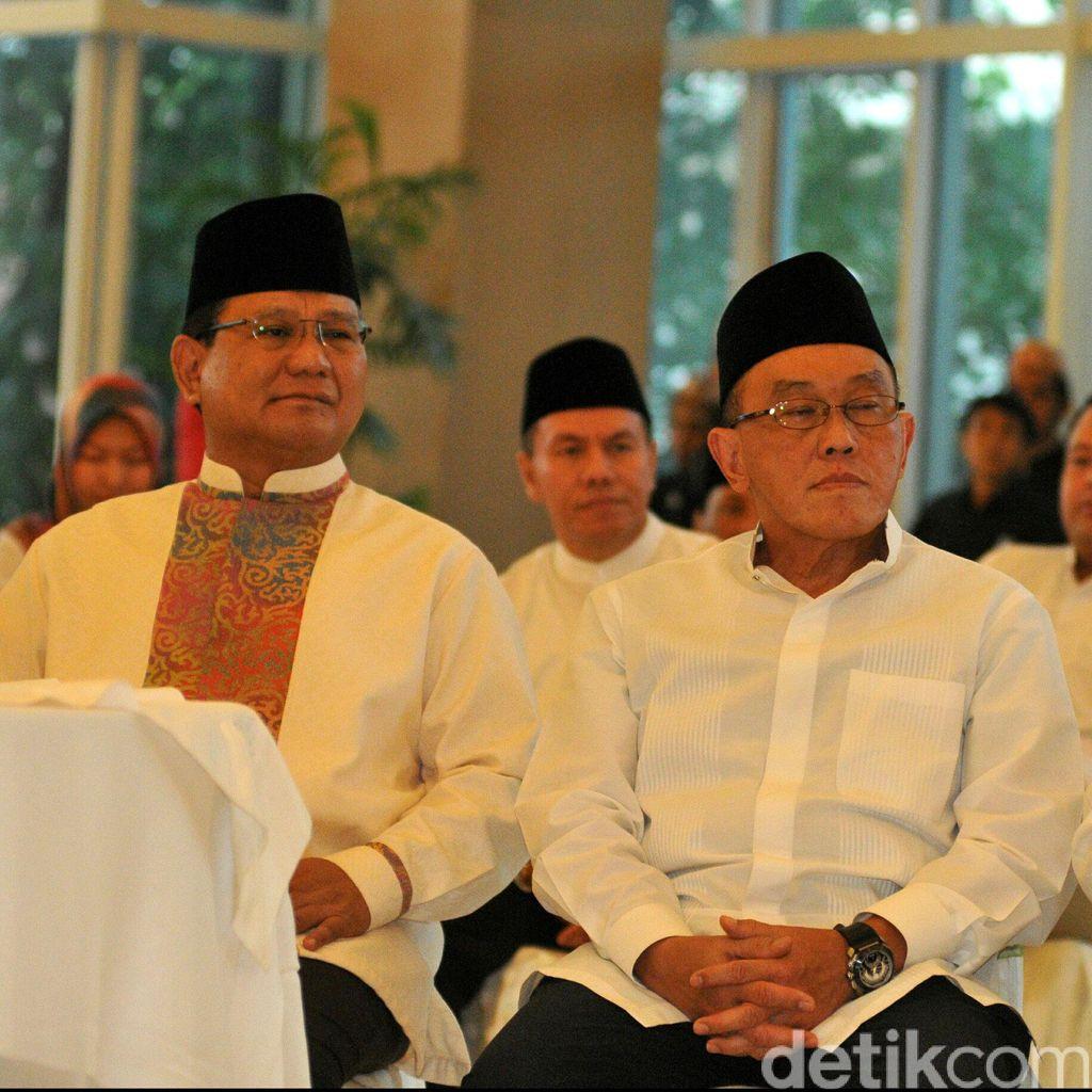 Prabowo, Ical dan Fahri Hadiri Acara Ultah Partai Golkar ke-51