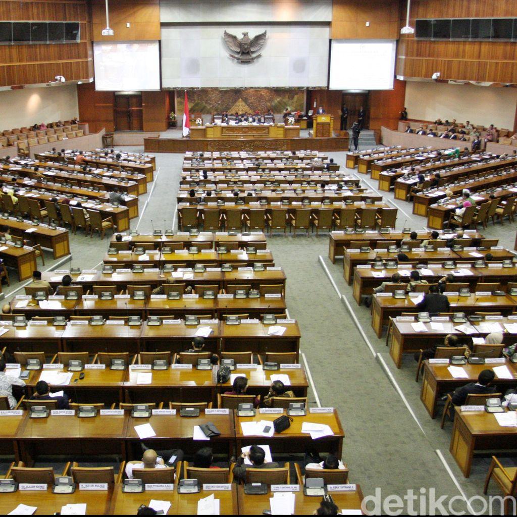 DPR Gelar Paripurna Bahas Revisi UU KPK Hari Ini