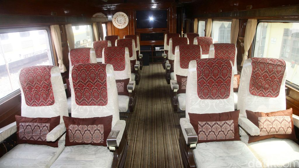 Kereta Retro yang Dinaiki Soekarno Dibuat Tiruannya untuk KA Wisata