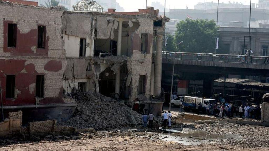 PM Italia Puji Presiden Mesir Usai Ledakan Bom di Konsulat