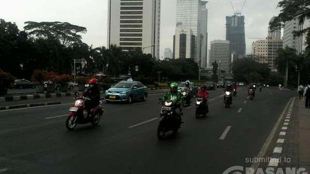 Lalu Lintas di Jakarta Pagi ini Masih Bersahabat