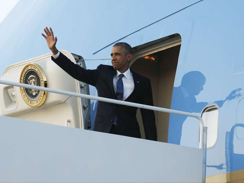 Presiden Obama Bertolak ke Paris Hadiri Pertemuan COP21