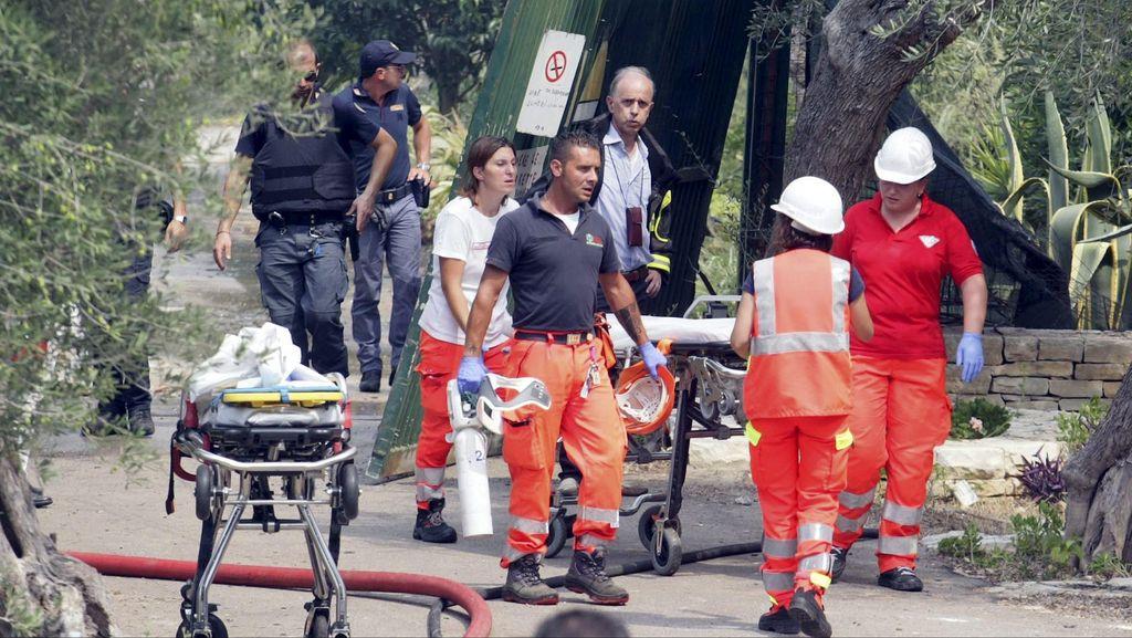 Ledakan Pabrik Kembang Api di Italia Tewaskan 7 Orang