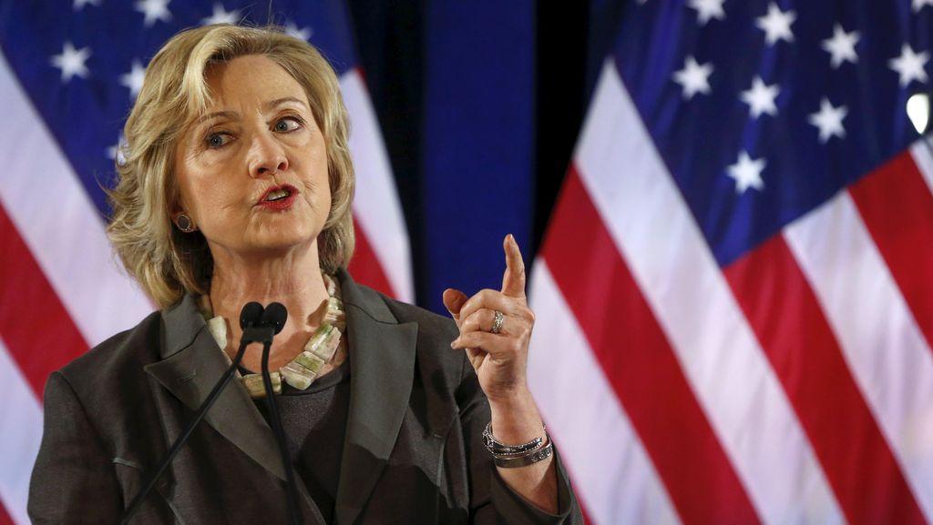 Penembakan Marak di AS, Hillary Clinton: Ada Sesuatu yang Sangat Salah!