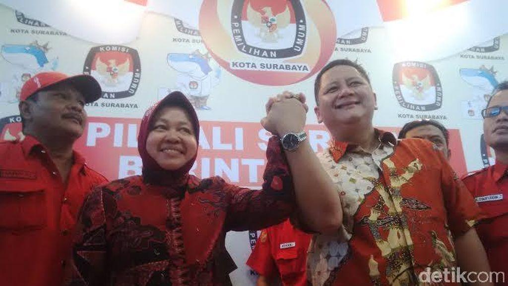 Sulitnya Mencari Lawan Tanding untuk Risma di Pilwalkot Surabaya