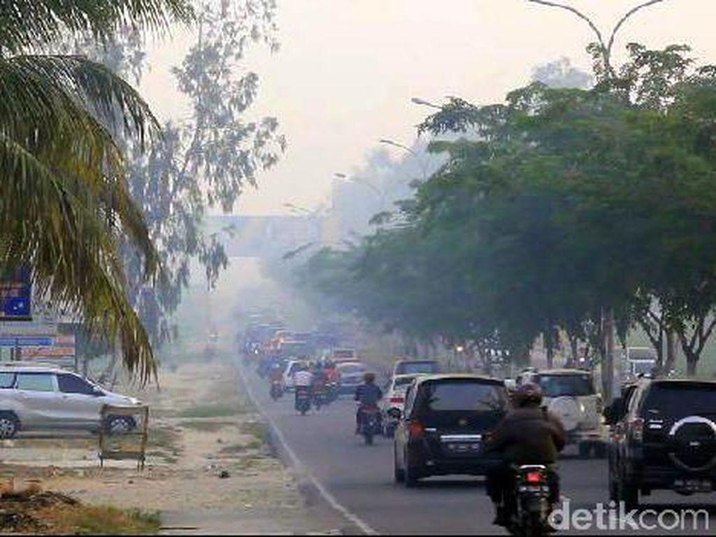 Bencana Asap, Presiden Minta Kepala Daerah Tak Ragu Nyatakan Tanggap Darurat