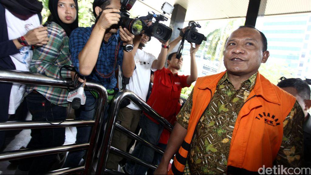 Pengacara Tak Hadir, Sidang Perdana Bupati Morotai di PN Tipikor Ditunda