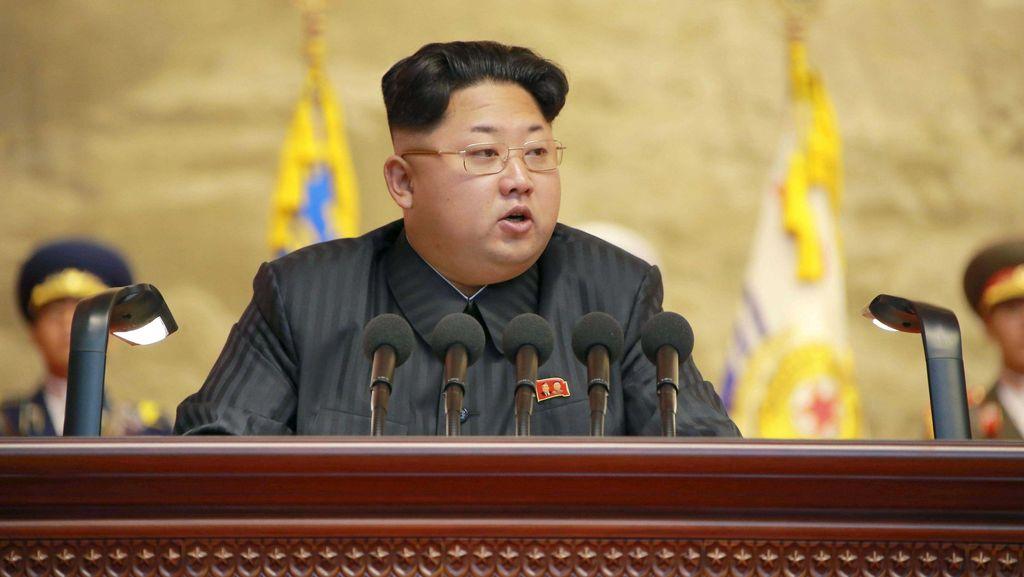 Kim Jong-Un Sebut Pasukan Korut Siap Berperang dengan Amerika