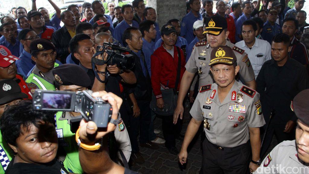 Demo Buruh 1 September, Irjen Tito: Kalau Tujuannya Memacetkan Jalan Nggak Boleh