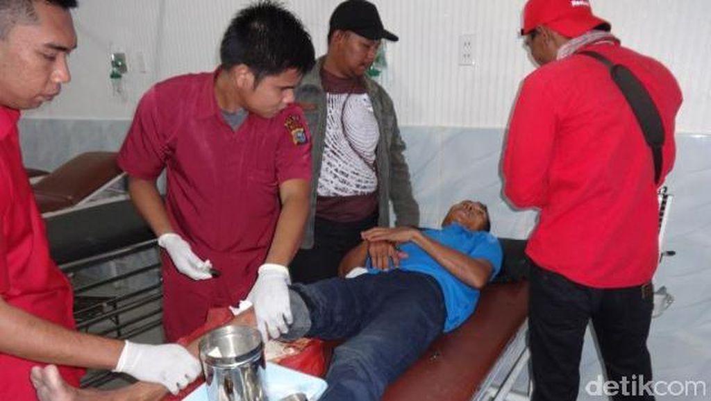 Polisi Tembak Pelaku Pembunuhan Sadis Terhadap Buruh Bangunan di Pekanbaru