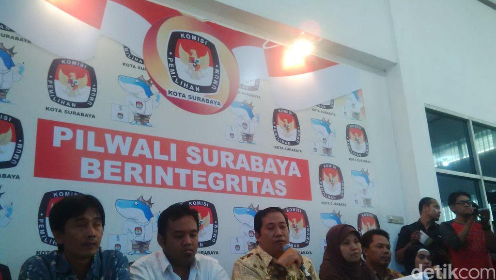 Lawan Risma Gugur, KPU Surabaya Buka Pendaftaran Lagi 6-8 September