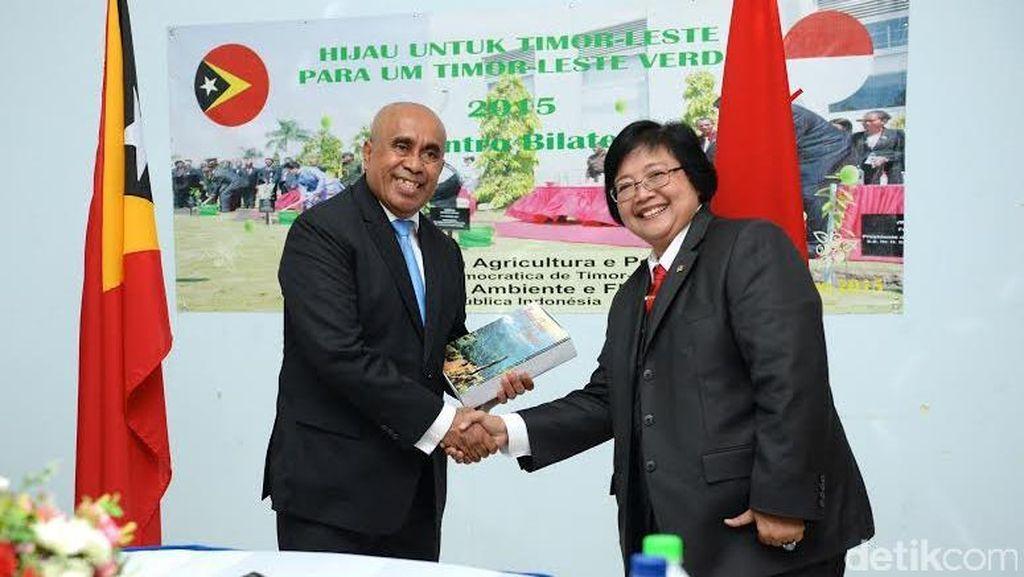 Menteri Siti Pimpin Inisiasi Pengelolaan DAS Lintas Negara