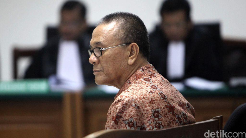 Eksepsi, Rizal Abdullah Minta Sidang Wisma Atlet Dipindah ke Palembang
