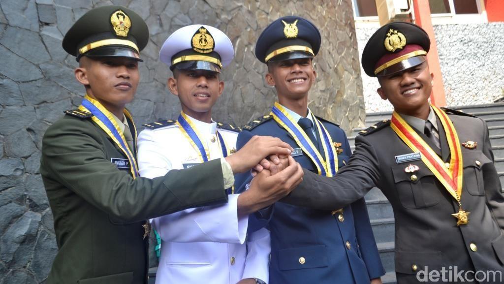Ini Dia Sosok 4 Perwira Remaja TNI-Polri Peraih Adhi Makayasa 2015