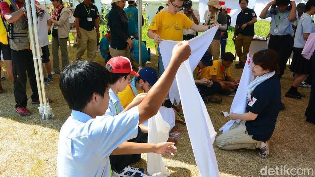 Serunya Aksi Para Pramuka Bermain dan Belajar di Jambore Dunia
