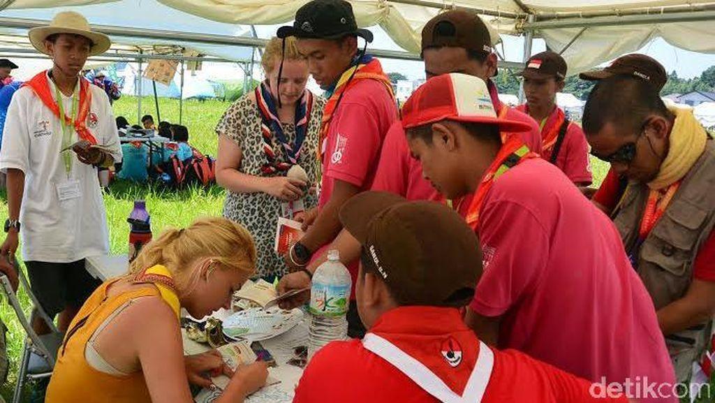 Pramuka Belanda Ini Senang Dapat Komunitas Bersepeda Baru di Jambore