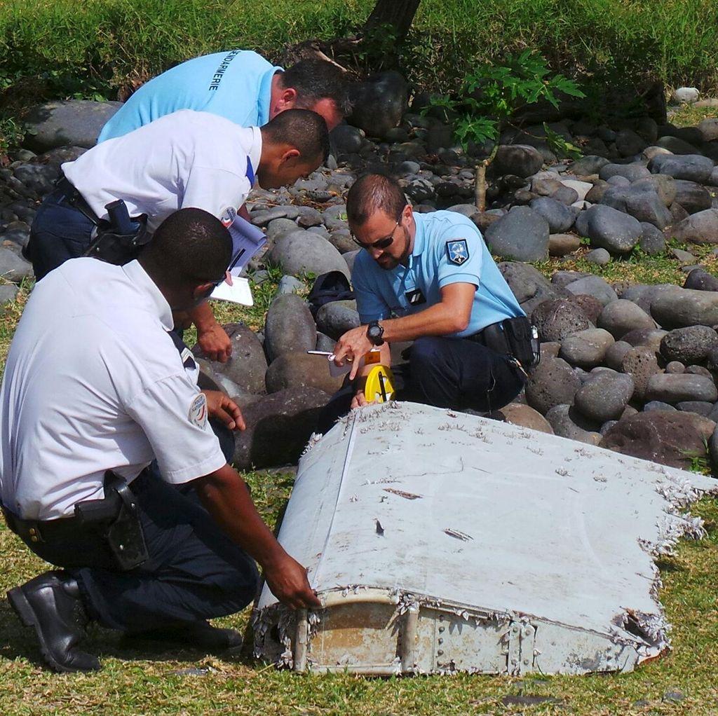 Prancis Pastikan Puing Pesawat yang Ditemukan di Pulau Reunion dari MH370