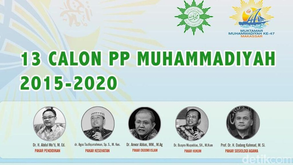 Gerilya Malam Para Tim Sukses Jelang Pemilihan Ketum PP Muhammadiyah